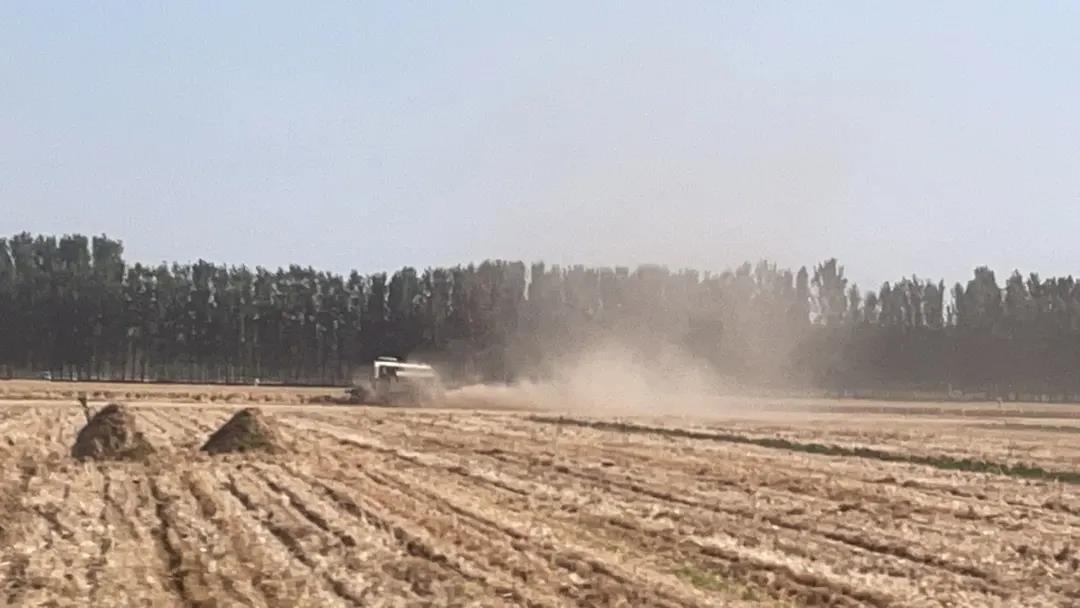 监测麦收扬尘污染,ballbet贝博app下载走航车来了